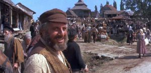 The village of Anatevka in Fiddler on the Roof