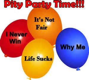 Pity Party Balloons
