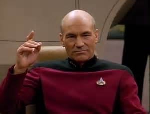 "Captain Picard: ""Make it so!"""
