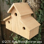 I bought two of these houses from The Birdhouse Depot.