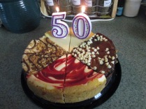 EJ's Birthday Cheesecake