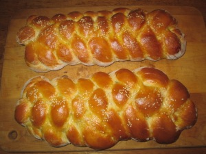 My Six-Stranded Challah Bread