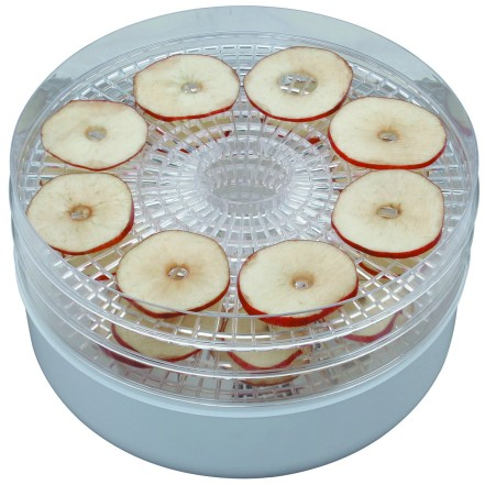 A round dehydrator. This is similar to what I use.