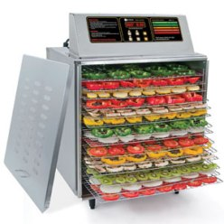 A square electric dehydrator