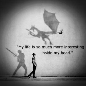 My mind is always thinking