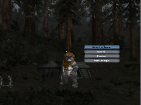 Ewok in the Battlefront game.