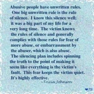 Abuse Silence