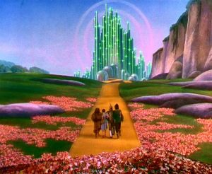 Traveling to the Emerald City