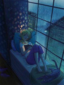 I love rainy days. Photo from Pinterest.