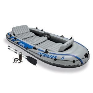 Our Inflatable 5-person boat