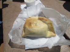 An authentic Michigan pasty