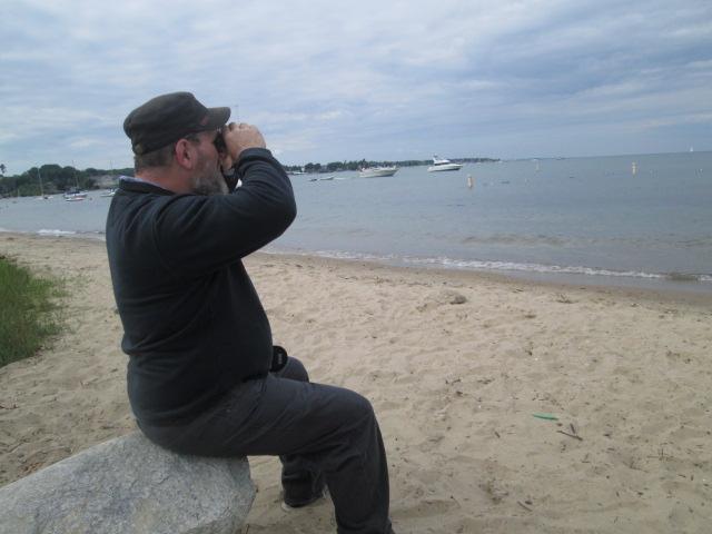 EJ enjoying the scenery