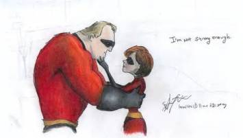 Mr. Incredible not strong