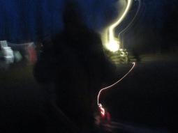 Interesting blurred light