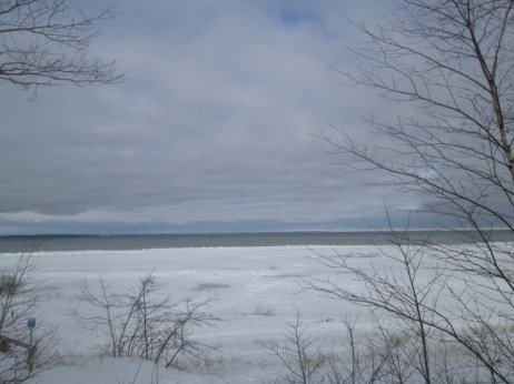 Cold Grand Traverse Bay