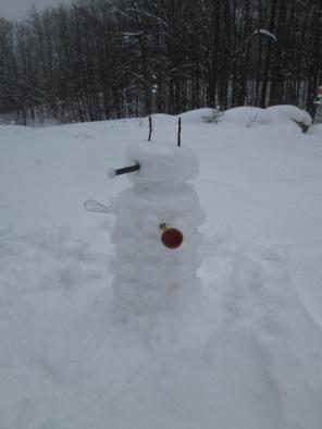 My Dalek Snowman