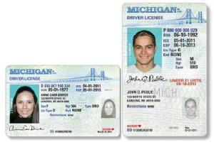 Samples of an adult license (left) and a youth license (right)