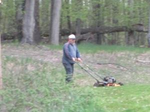 EJ mowing