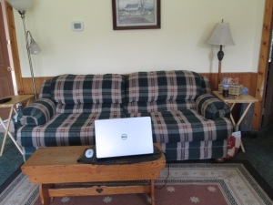 The new couch.