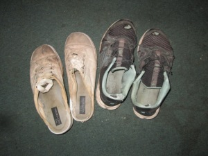 My Summer chore shoes