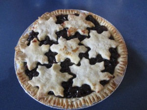 My mincemeat pie.