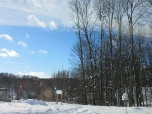 Look! Blue skies!