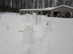 I spent all afternoon building Daleks