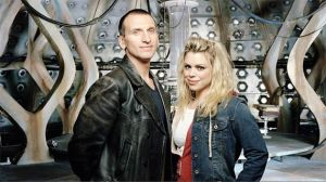 Ninth Doctor and Rose Tyler. Photo from Doctor Who TV.