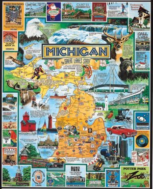 My awesome Michigan puzzle
