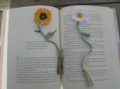 Sunflower/Daisy Bookmark