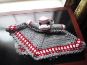 Sock Monkey Snuggle Blanket