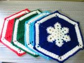 Snowflake Placemats