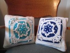 Heirloom Snowflake Pillow