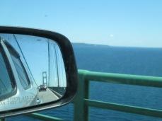 Crossing Mackinac Bridge