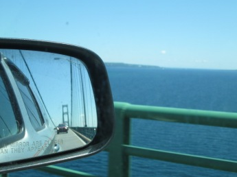 Crossing Mackinac Bridge
