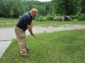 """EJ """"golfing"""""""