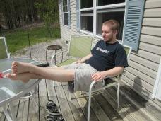 JJ relaxing
