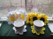 Daisy/Sunflower Coasters