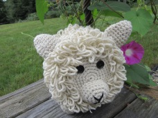 Little Lamb Toilet Paper Holder $15