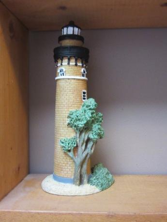 Replica of the same lighthouse.