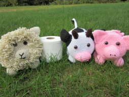 Farm Animal Toilet Paper Holder