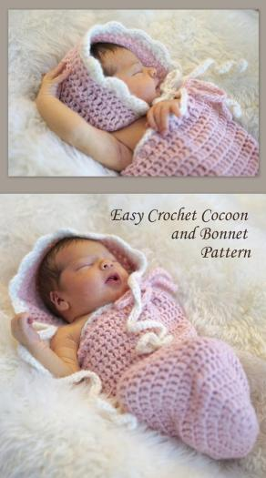 The baby cocoon I am going to make.