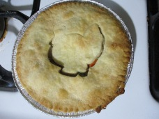 A cooked pie. Yummy!